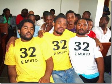 jovens condenados a tres meses de prisao angola