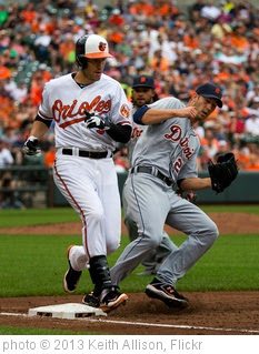 'Ryan Flaherty, Rick Porcello' photo (c) 2013, Keith Allison - license: https://creativecommons.org/licenses/by-sa/2.0/