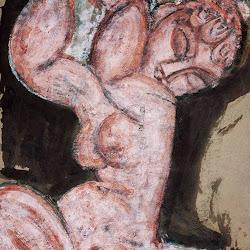 Modigliani, Nude -- Caryatid 1913.jpg