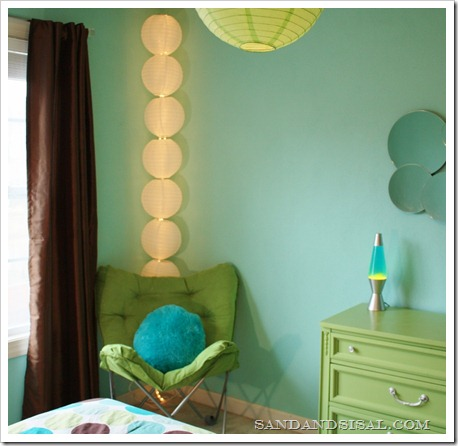 DIY Pottery Barn Teen Lantern Fixture