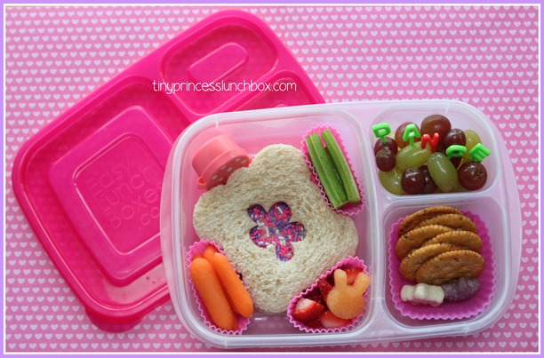 Lunch for A in our #EasyLunchboxes