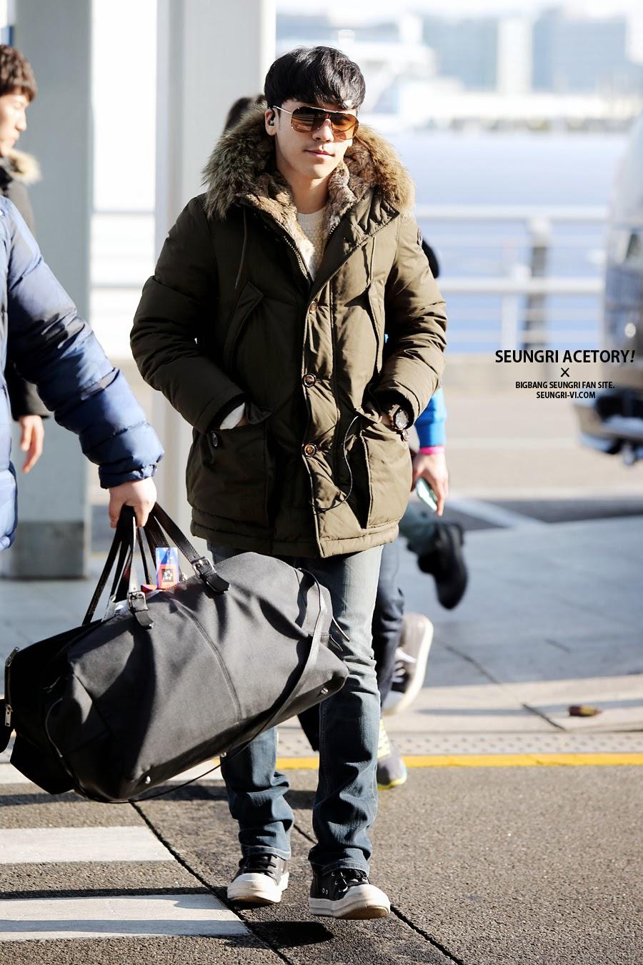 Big Bang - Incheon Airport - 13dec2013 - Seung Ri - Fan - Acetory - 04.JPG