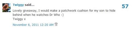 Stitch comment