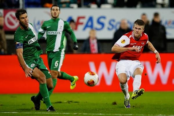 AZ+Alkmaar+v+Maccabi+Haifa+FC+UEFA+Europa+N14 nnYJCLjx