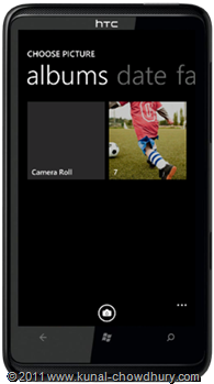 WP7.1 Demo - Photo Chooser Task - Library