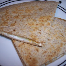 Creamy 3 Cheese Quesadillas