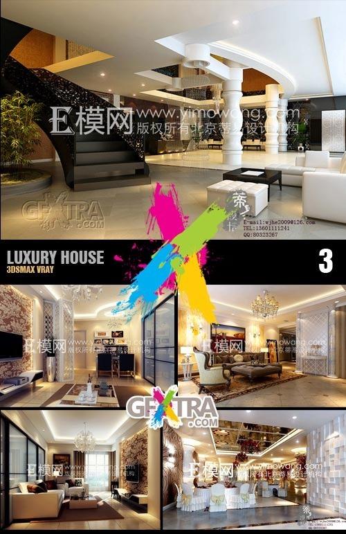 3dsmax-stuff.blogspot.com_ 3dsMax Interior Scene Collection - Luxury House 3 (Vray & Textures)