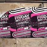 hotel arena amsterdam party flyer in Amsterdam, Noord Holland, Netherlands
