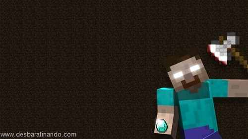wallpapers minecraft 8 bit pixelados desbaratinando  (29)