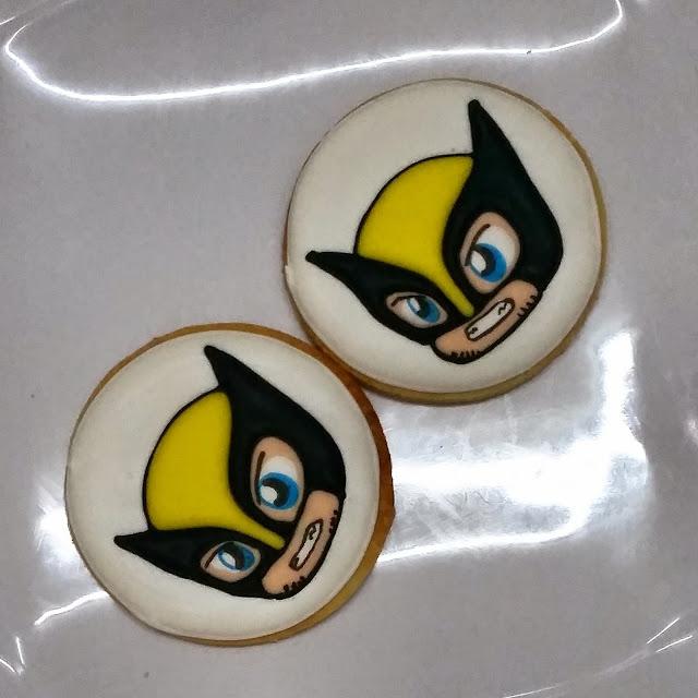 chibi wolverine cookies
