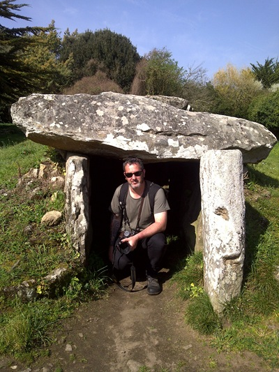 Shaun and Dolmen du Mane Rethual
