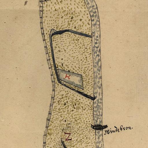 Sandvikskällan 1635-1636 med två utlopp