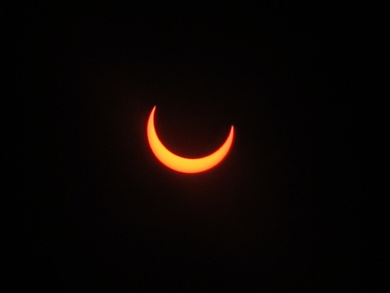Eclipse from Brown Mountain 3