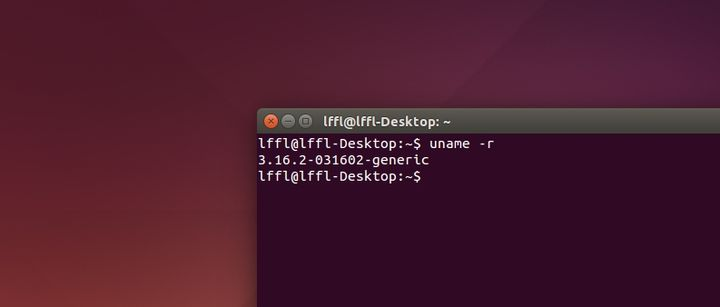 Kernel Linux 3.16.2 in Ubuntu