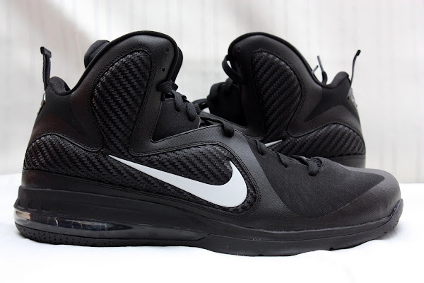 PE Spotlight  Nike LeBron 9 Triple Black with White Swoosh