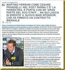 STADIOTARDINI COM PASSAGGIO FERRARI BARALE