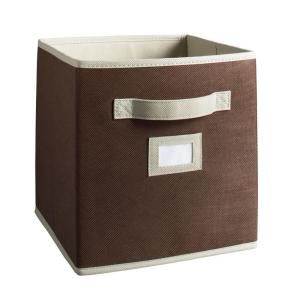 This is the perfect bin to use for storage, they will slide into the compartments in the bench pictured before.