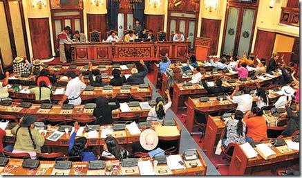 Asamblea legislativa Bolivia