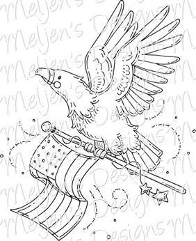 Meljens Designs American Eagle
