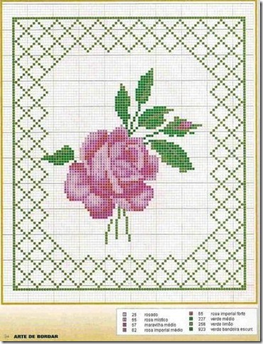 Ponto Cruz-Cross Stitch-Punto Cruz-esquemas-motivos-711