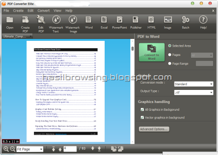 PDF Converter Elite sceenshot