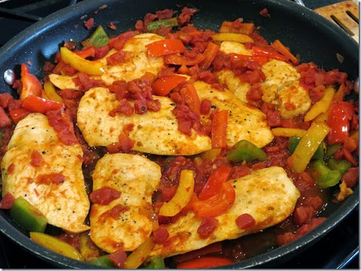 Chipotle Chicken Skillet, by Shelby
