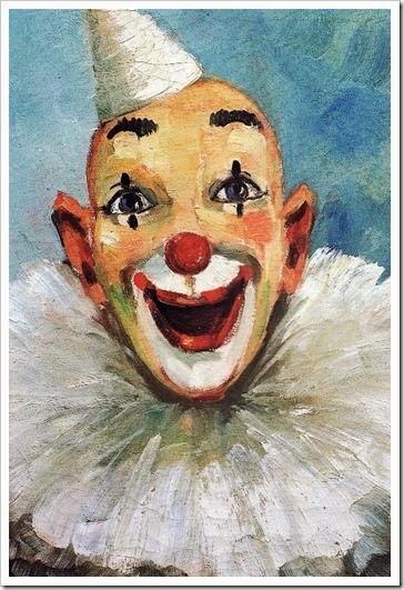 A. Dubsky -Clown-
