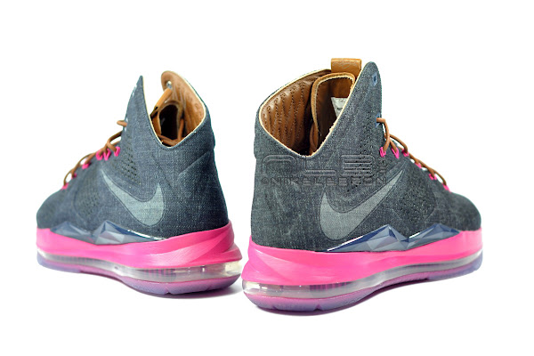The Showcase Nike LeBron X EXT Denim QS Lace Swap