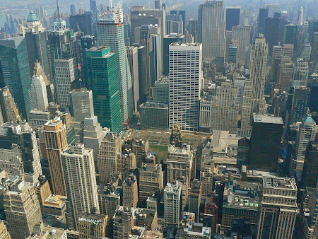 Obiective turistice New York: New Yorkul vazut de sus