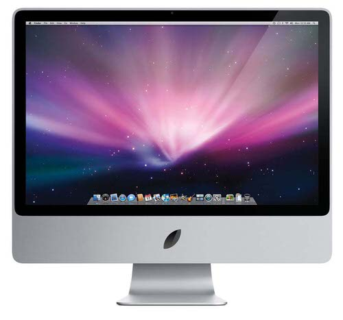 Apple new logo imac