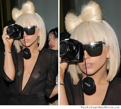Lady Gaga with Camera