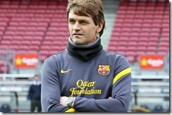 tito Vilanova fue presentado como nuevo DT del Barcelona