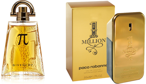 Pi da Givenchy e 1 Million da Paco Rabanne