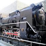 giant locomotive in ueno tokyo in Ueno, Tokyo, Japan
