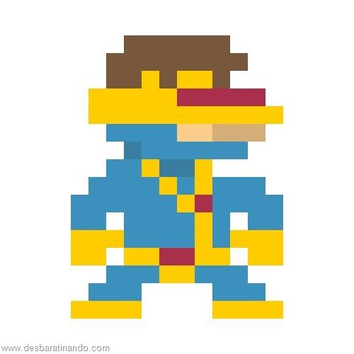 super herois e viloes em 8 bits x man (19)