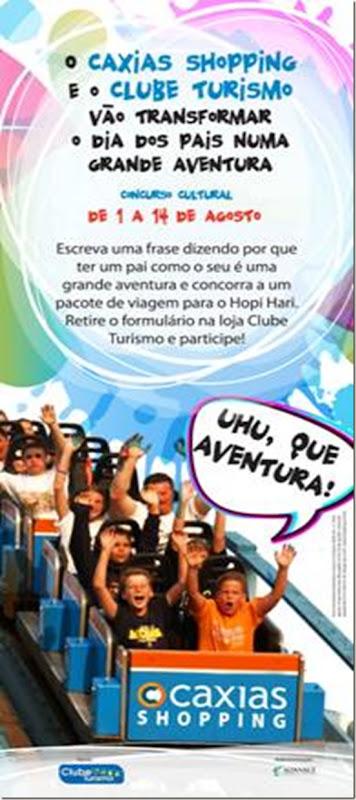 Caxias Shopping Concurso Cultural de Frases dia dos Pais