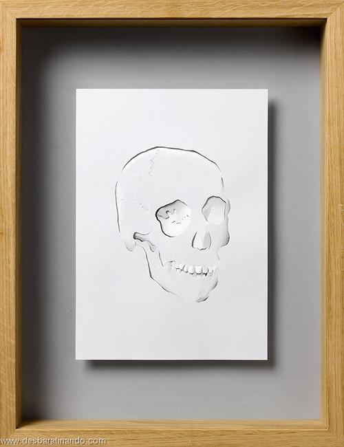 obras de arte em papel 3D origami Peter Callesen desbaratinando (20)
