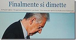 Mario Monti demite-se.Dez.2012