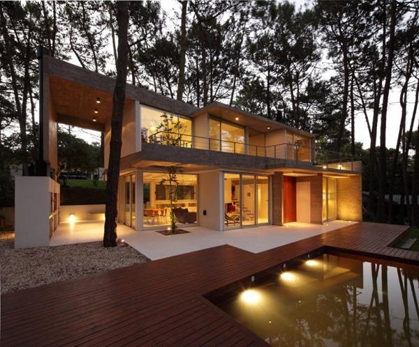 casa-contemporanea-arquitectos-Félix-Raspall-y-Federico-Papandrea-Casa-Fresno