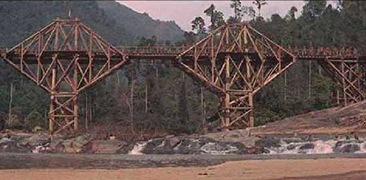 1025 pont de la rivière kwai