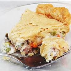 Dad's Leftover Turkey Pot Pie