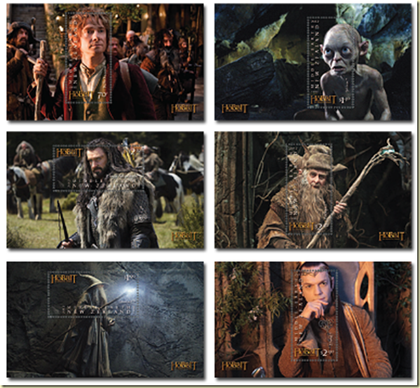Rainbow Stamp Club: ' The Hobbit : An Unexpected Journey