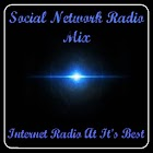 Social Network Radio Mix icon