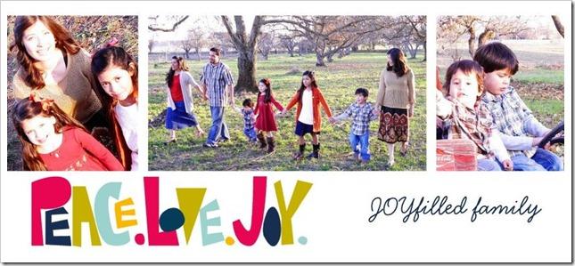 Peace Love Joy FRONT