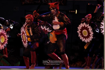 Enactment of an epic battle, Sayaw Mindanao 2014 Finals, Davao City