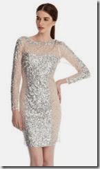 Coast Deline Sequin Dress
