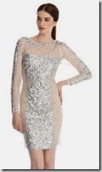 Coast Deline Sequin Dress