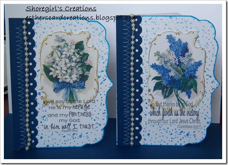 card set blue copy