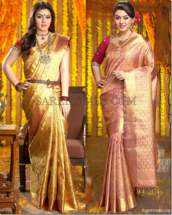 Hansika_Chennai_Silk_Saree_Photos