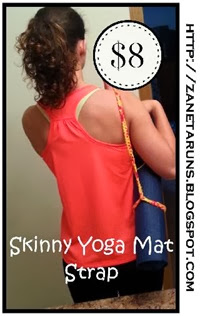 Skinny Yoga Mat Strap Graphic